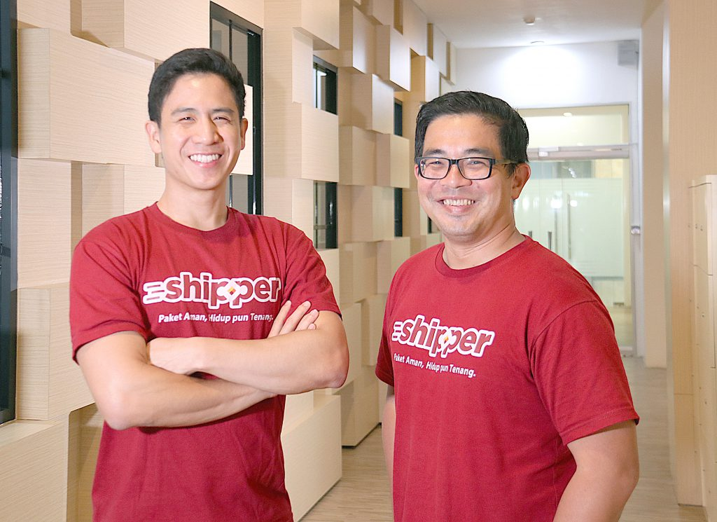From left to right: Shipper CEO Phil Opamuratawongse with COO Budi Handoko