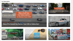 Carro blog featuring how-to's on car subscriptions