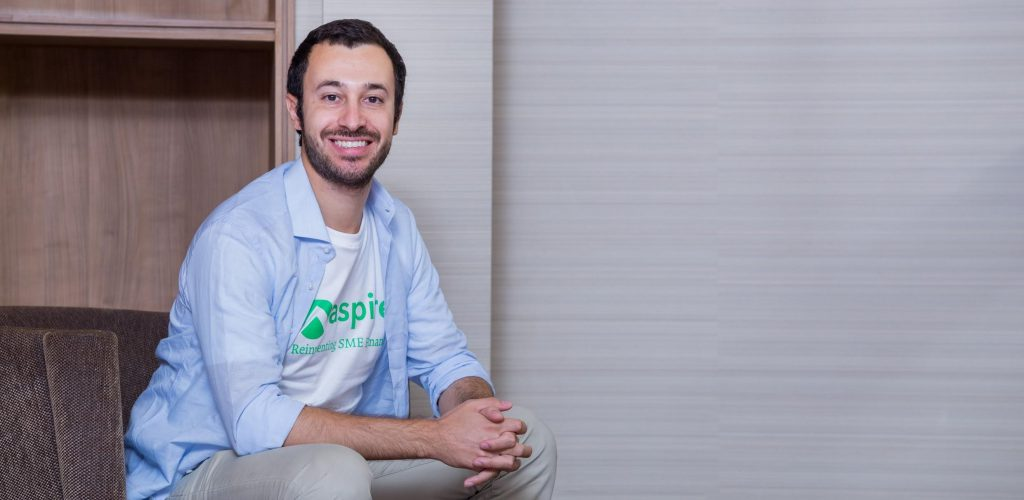 Aspire CEO and co-founder Andrea Baronchelli