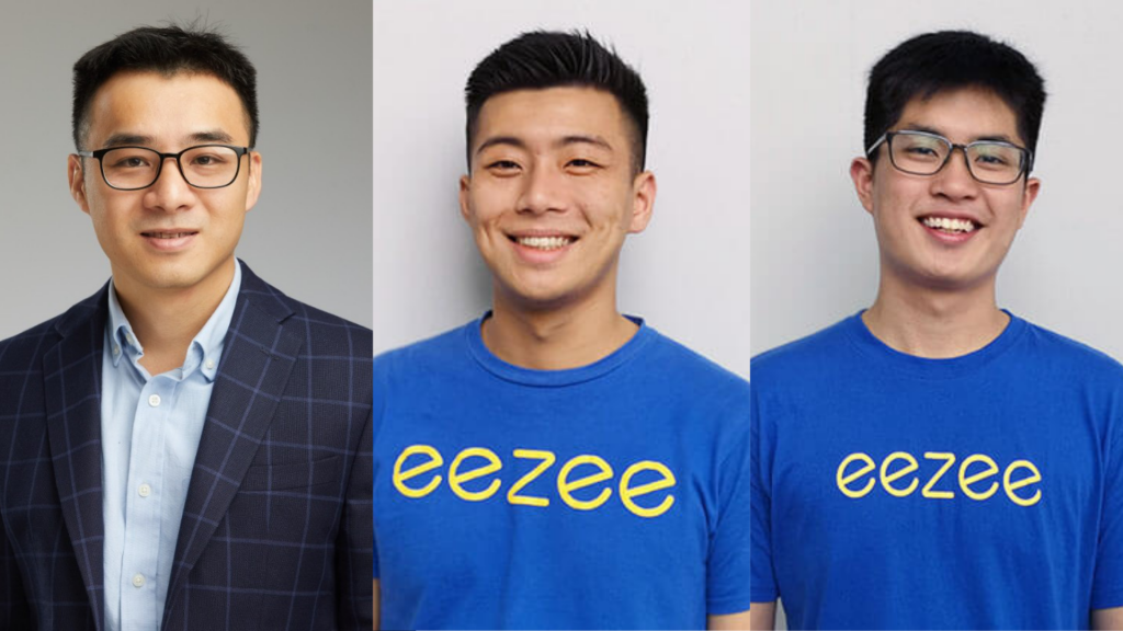 Our portfolio product leaders for this article: Edmicro co-founder and CTO Que Nguyen, Eezee co-founders Jasper Yap (CTO) and Terrence Goh (Chief Design Officer)