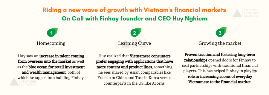 Takeaways from our call with Finhay founder and CEO Huy Nghiem