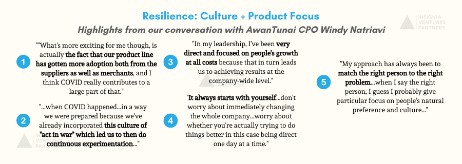 Highlights from our conversation with AwanTunai CPO and co-founder Windy Natriavi