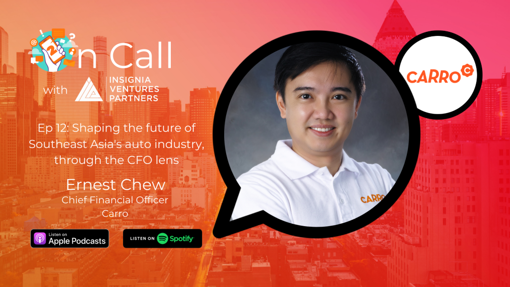 On Call with Ernest Chew, CFO of Carro